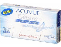 Johnson & Johnson Acuvue Oasys for Astigmatism (6 čoček)